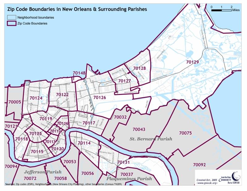 New Orleans East Zip Codes