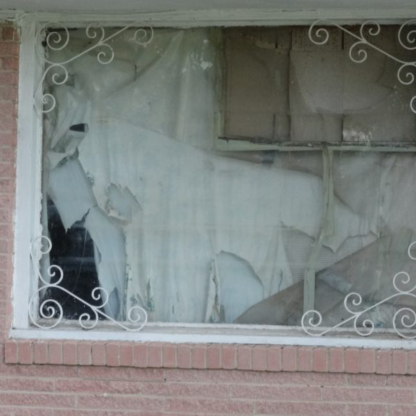window broken for 7 years