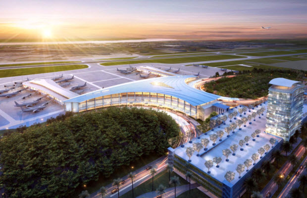new airport north terminal
