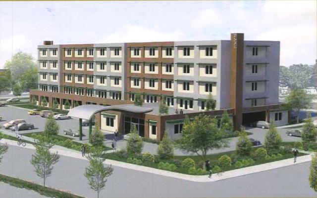 Proposed Tulane Avenue Apartment