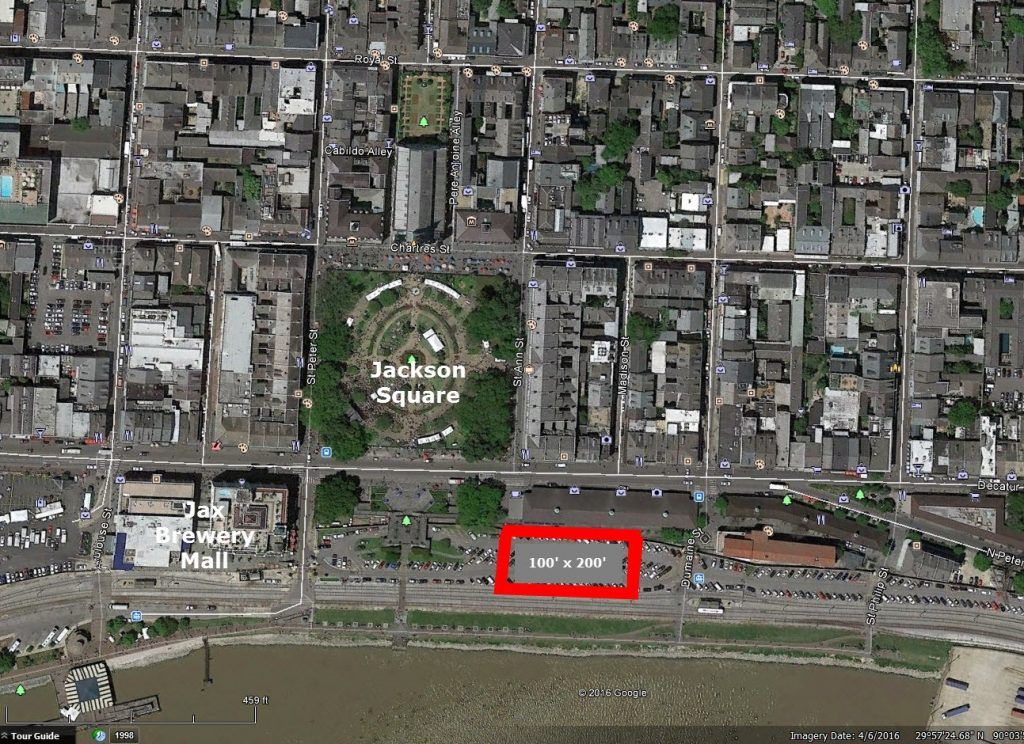 city owned lot near jackson square