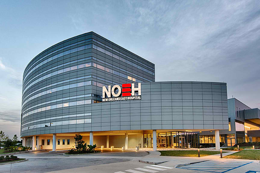 $130 million New Orleans East Hospital