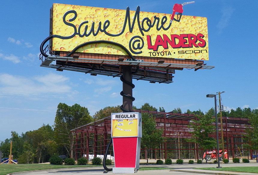 pump billboard